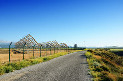 Solar power plant in Spain Royalty Free Stock Images