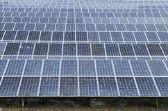 Solar power plant using renewable Stock Photos