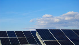 Solar power plants. Royalty Free Stock Images