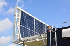 Solar Power or Solar Cell Stock Image