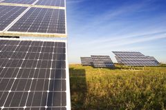 Solar power station 1 Stock Photo