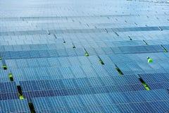 Solar power station Royalty Free Stock Photos