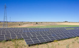 Solar Power Station Stock Image
