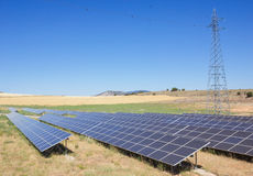 Solar Power Station Royalty Free Stock Images