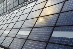 Solar Power Station far North Royalty Free Stock Photo