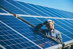 Solar power station Stock Photography