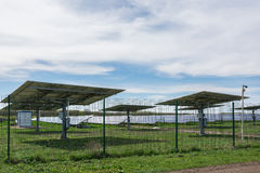 Solar power station. royalty free stock image