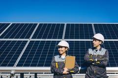 Solar power station Royalty Free Stock Image
