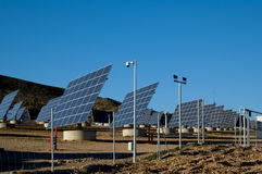 Solar power station - Spain Stock Photo
