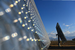 The solar power station Stock Photography