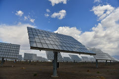 The solar power station Royalty Free Stock Image