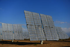 The solar power station Royalty Free Stock Photography