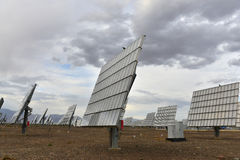 The solar power station Stock Image