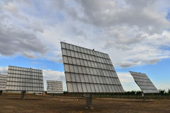 The solar power station Royalty Free Stock Photo