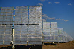 The solar power station Stock Images
