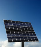 Solar power stations. Solar power station under the blue sky Royalty Free Stock Images