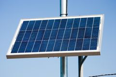 Solar power system royalty free stock photo