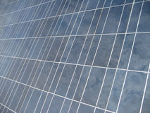 Solar power system module clos. Close-up view of a photovoltaic module Stock Photos