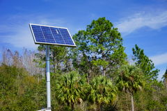 Solar power. Taken in Florida Stock Image