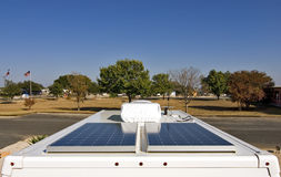 Solar Power for Your RV Stock Images