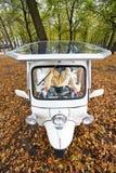 Solar powerd tuc tuc Stock Image