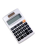 Solar powered calculator Royalty Free Stock Images