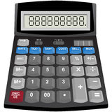 Solar Powered Calculator Stock Photography