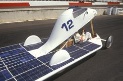 Solar powered car at the Solar and Electric 500, AZ Stock Photography