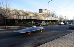 Solar-powered car Royalty Free Stock Photo