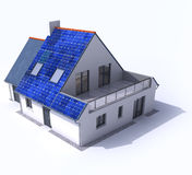 Solar powered home Royalty Free Stock Photography