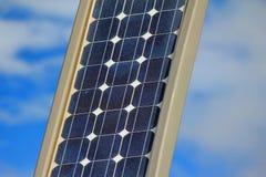 Solar powered lamp Stock Image