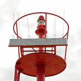 Solar powered lighthouse Stock Images