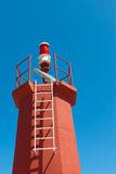 Solar powered lighthouse Royalty Free Stock Image