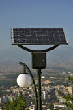 Solar Powered lights Royalty Free Stock Image