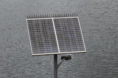 Solar Powered Outdoor Light Royalty Free Stock Photography