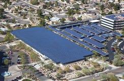 Solar Powered Parking Royalty Free Stock Photos
