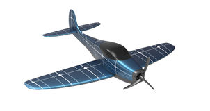 Solar Powered Plane Royalty Free Stock Photo