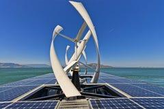 Solar powered travel Stock Photos