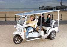 Solar powered tuc tuc Royalty Free Stock Photos