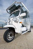 Solar powered tuc tuc Stock Photography