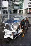 Solar powered tuc tuc Royalty Free Stock Photo