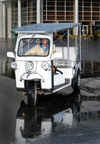 Solar powered tuc tuc Stock Photo