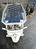 Solar powered tuc tuc Royalty Free Stock Photography