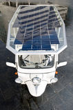 Solar powered tuc tuc Stock Images