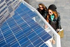 Solar powered tuc tuc Stock Photos