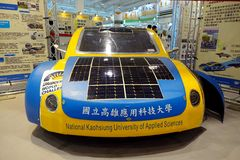 Solar-Powered Vehicle Royalty Free Stock Images