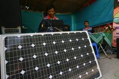Solar powered Royalty Free Stock Photography