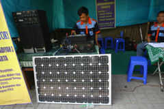 Solar powered Stock Photos
