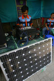 Solar powered Stock Images