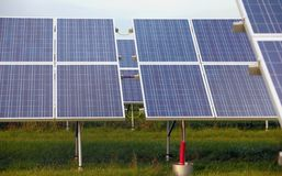 Solar powerplant Stock Photos